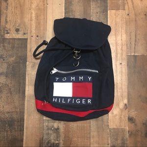 Tommy Hilfiger Flag Drawstring Backpack